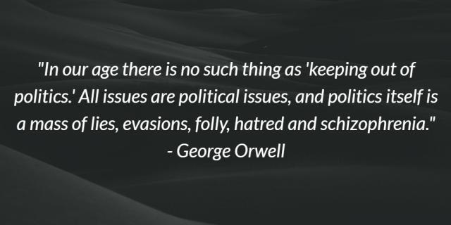 George Orwell onPolitics