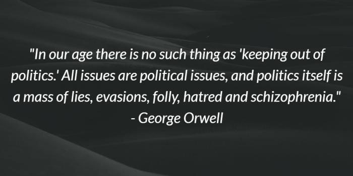 George Orwell on Politics