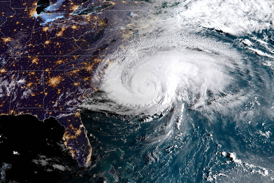 Hurricane Florence, Sept 13, via NOAA