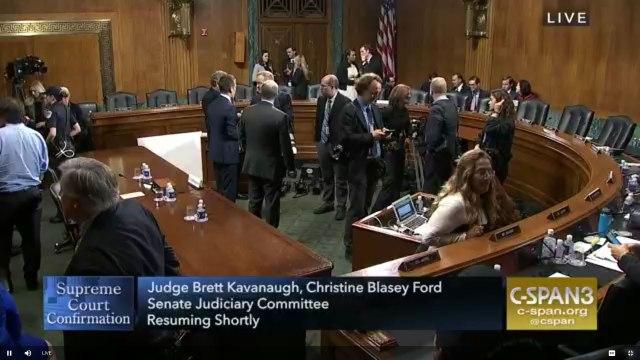 Ford/Kavanaugh Hearing