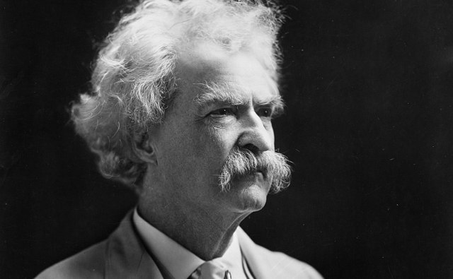 Mark Twain on what you're owed