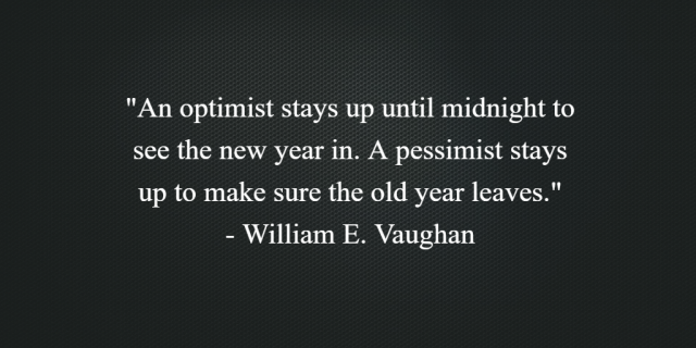 William Vaughan on the New Year
