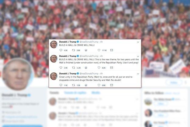 Donald Trump, Twitter, 1-23-2019
