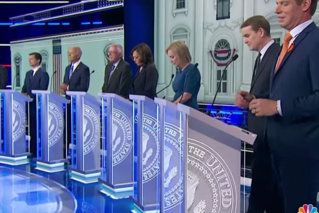Pt. 2 of the first Democratic debate: Kamala Harris wins, hands down.