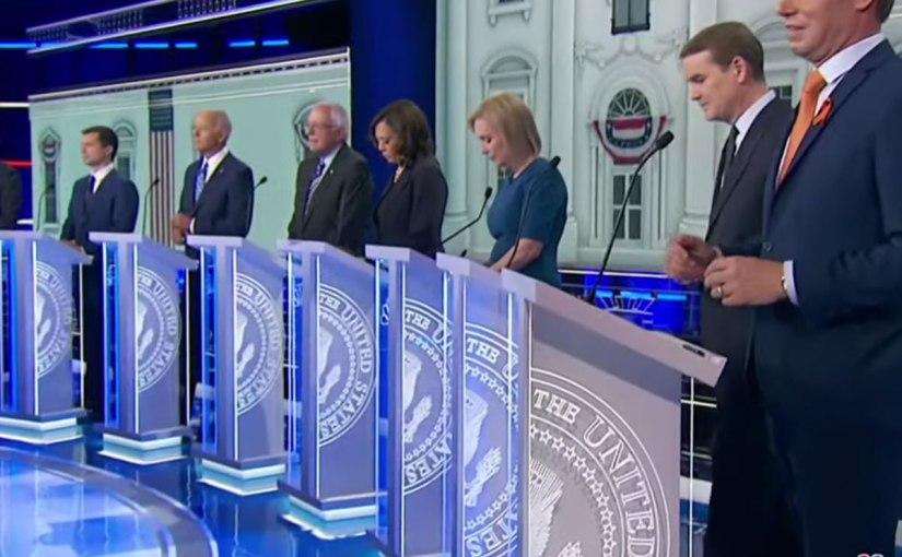 Pt. 2 of the first Democratic debate: Kamala Harris wins, hands down.