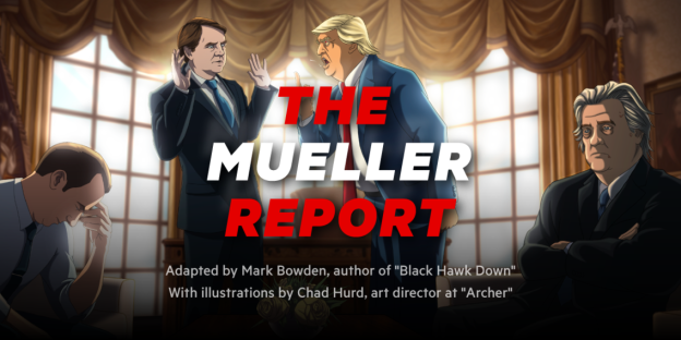 Insider: We hired the author of 'Black Hawk Down' and an illustrator from 'Archer' to adapt the Mueller report so you'll actually read it