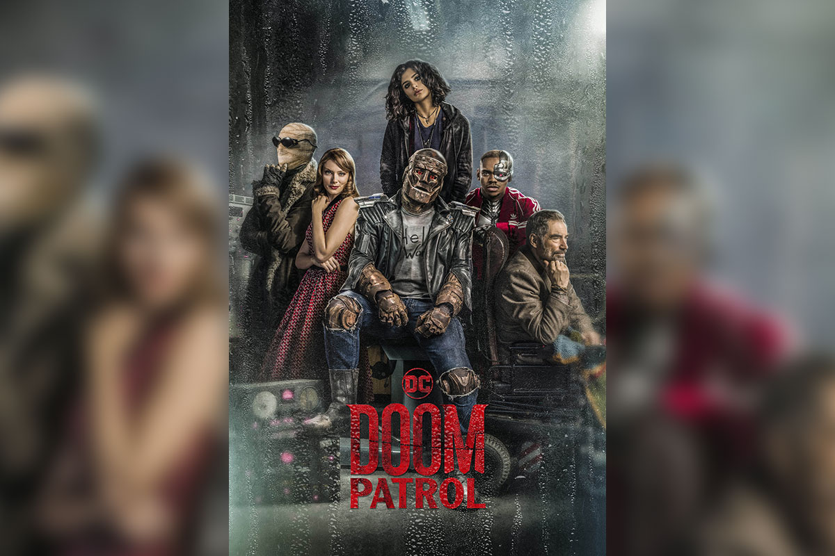 Promotional Poster for DCU's Doom Patrol