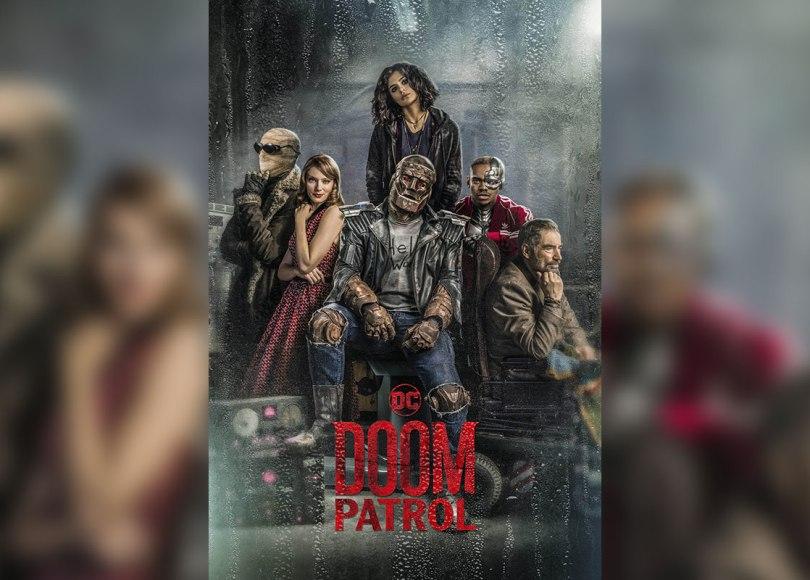 Promotional Poster for DCU's Doom Patrol
