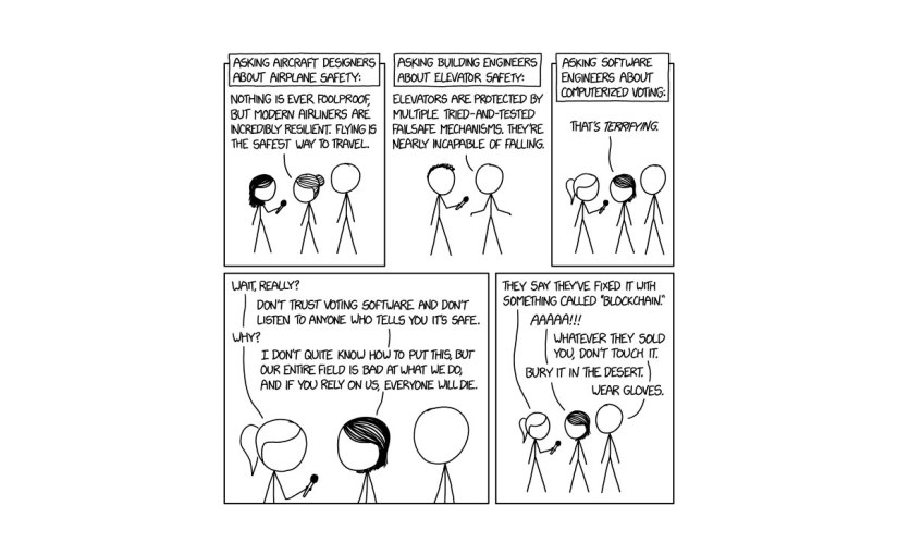 XKCD - Voting Software
