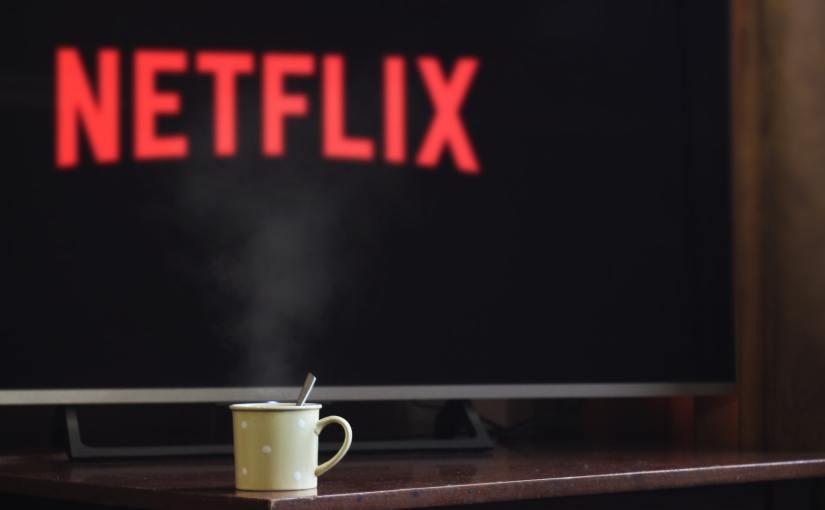 Pexels - A flatscreen TV showing the Netflix screen