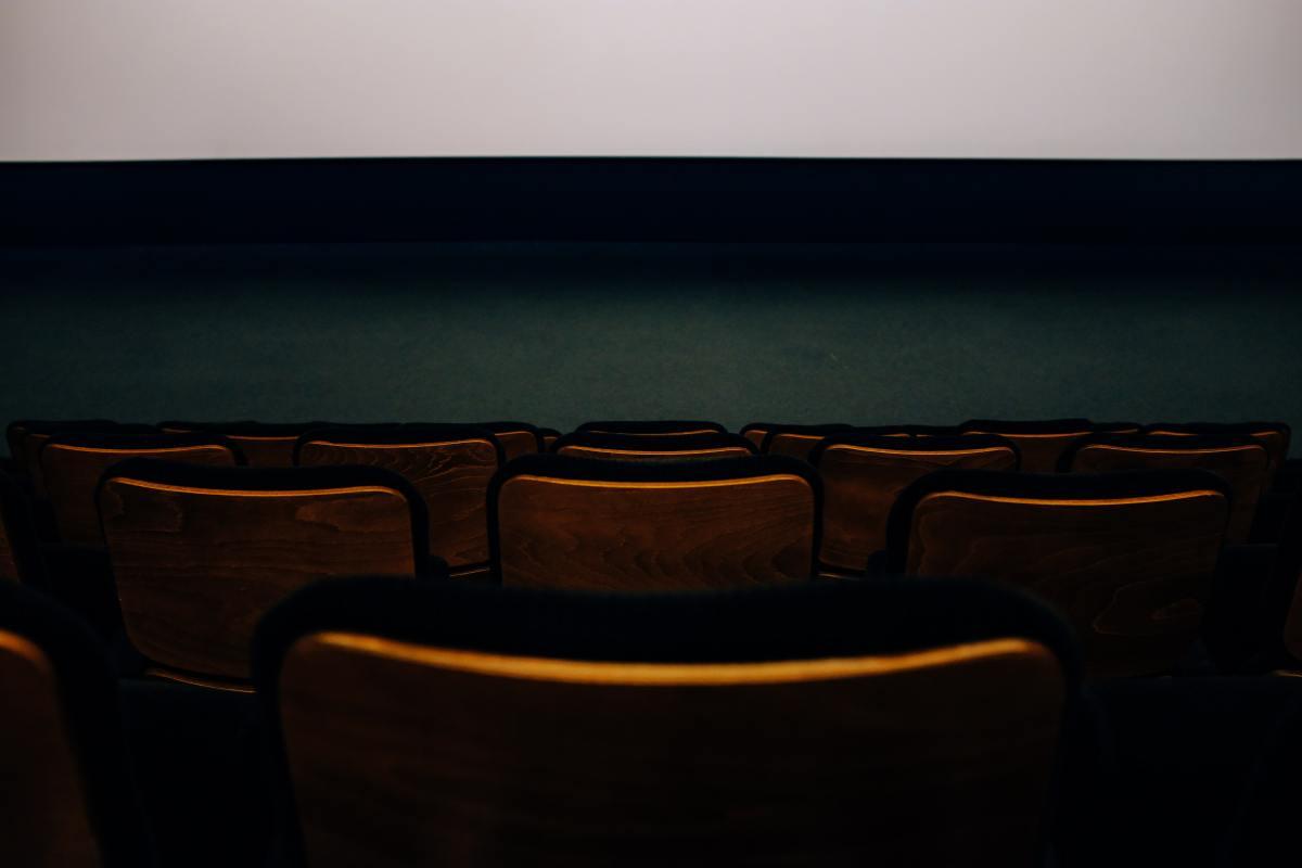 Pexels - Adrien Olichon - Empty, dark movie theater