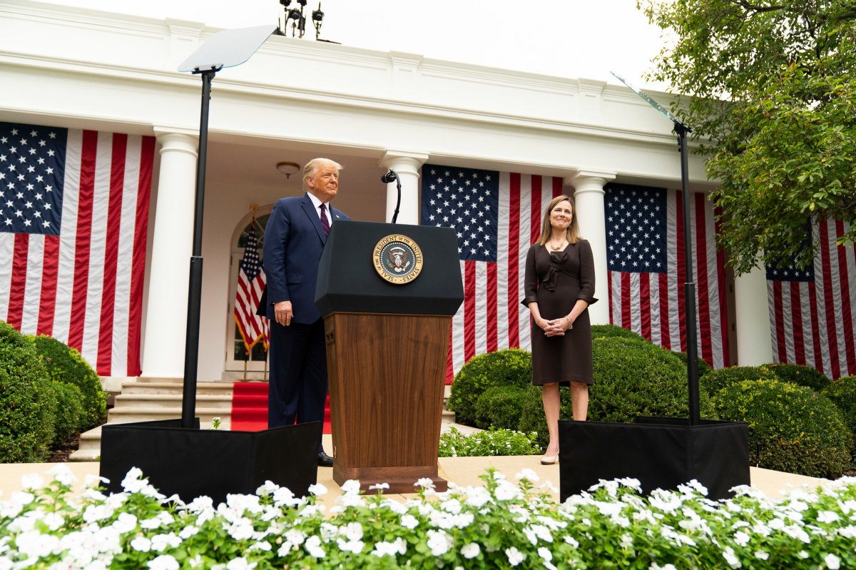 President Trump Nominates Judge Amy Coney Barrett for Associate Justice of the U.S. Supreme Court