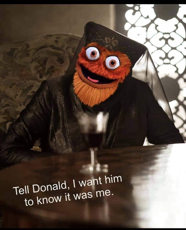 Gritty/Game of Thrones meme