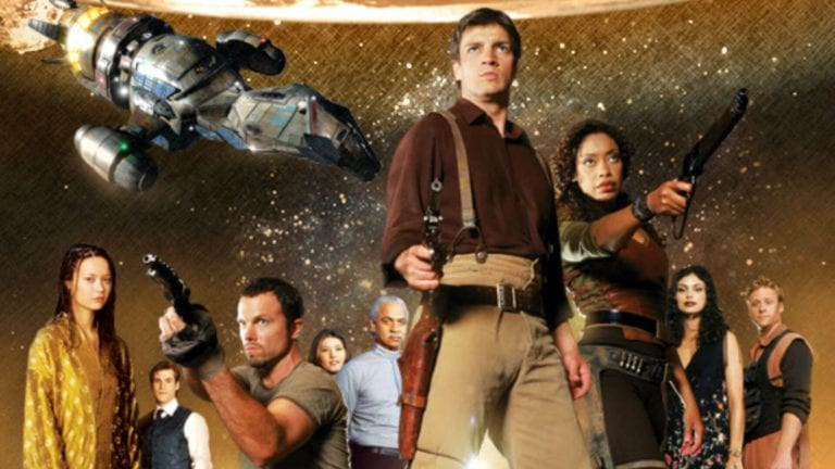 Cast photo for Firefly