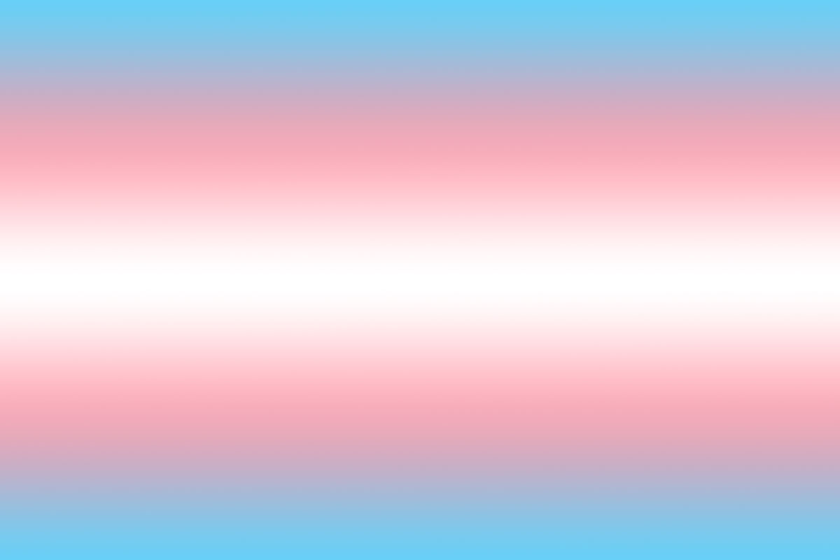 A blue-pink-white-pink-blue vertical gradient based on the Transgender flag