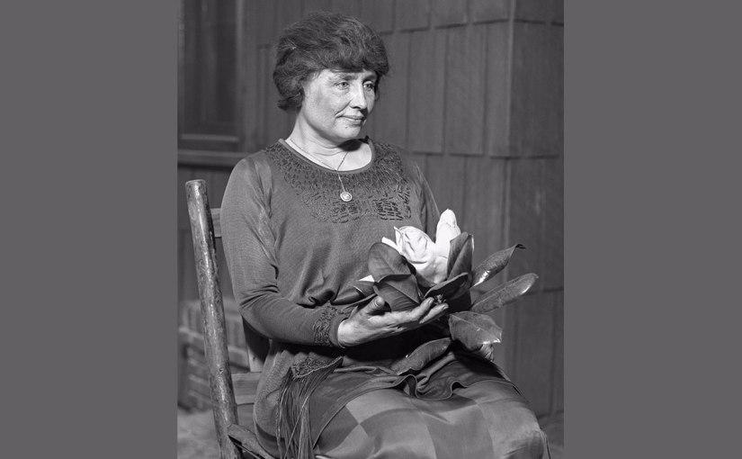 Hellen Keller is a realperson.