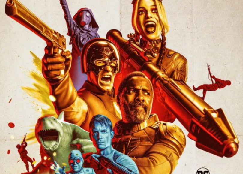 The Suicide Squad - James Gunn - Cropped Poster